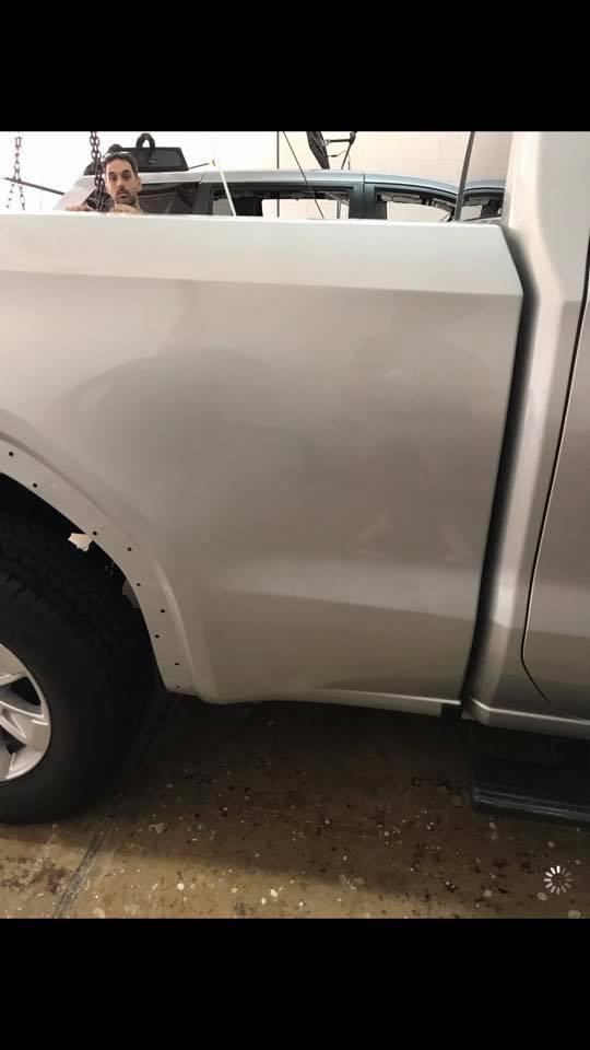 truck car dent repair