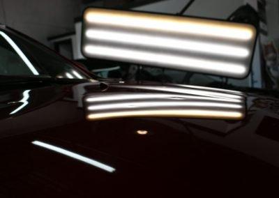 pdr light in black car